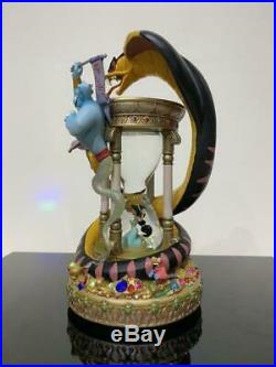 Disney Aladdin Jasmine Jeany Snow Globe Light Up Music Box Snow Dome Figure doll