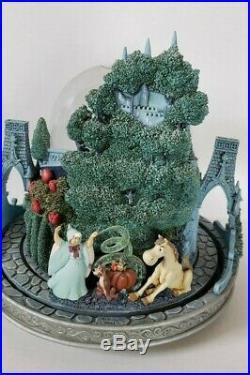 Disney Cinderella Castle Night Light Musical Moving Snow Globe So This Is Love