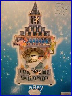 Disney Collectible Peter Pan Snow Globe You Can Fly Big Ben Clock Tower Music