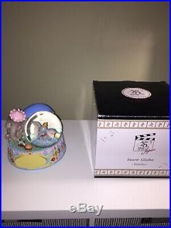 Disney Dumbo 25th Anniversary Musical Snowglobe Snow Globe