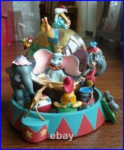 Disney Dumbo Entry of the Gladiators Musical Snow Globe