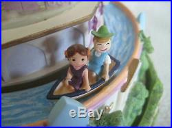Disney Its A Small World Musical Snow Globe Rare