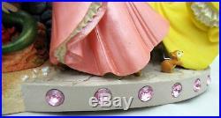 Disney Large Princess Snow Globe Water Musical Box A Dream Cinderella Aurora