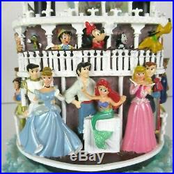Disney Liberty Belle Steamboat Musical Snow Globe Willie Characters