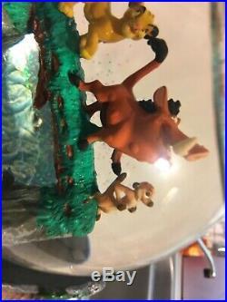 Disney Lion King Musical Snow Globe Hakuna Matata