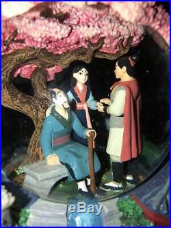 Disney Mulan Reflection Musical Snow Globe