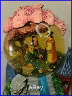 Disney Mulan Reflection Musical Snow Globe with Tag EXCELLENT