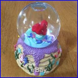 Disney Musical Snow Globe Ariel Under The Sea Flounder Little Mermaid princess