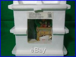 Disney Pinocchio & The Blue Fairy Snow Globe, Music Box Plays Toyland C1