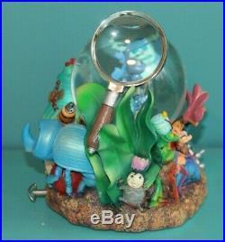 Disney Pixar A Bugs Life Musical Snow Globe Snowglobe Rare EUC w original box