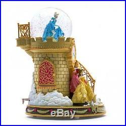 Disney Princess Staircase Musical Snow globe, Disneyland Paris Original N1372