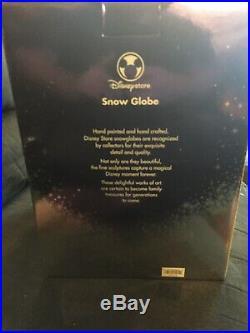 Disney Sleeping Beauty Musical Snow Globe Once upon a Dream with Fairies Prince