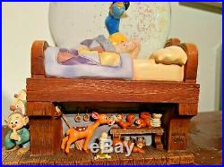 Disney Snow White & the Seven Dwarfs Waking Up Snow Globe Music & Light Up Box
