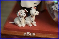 Disney Store 101 Dalmations Musical Snow Water Globe Lights Up BRAND NEW