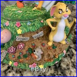 Disney Store Exclusive LARGE Winnie the Pooh Musical Glitter Globe Authentic