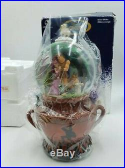 Disney Store Hercules Musical Snow Globe Plays Go the Distance New in Open Box