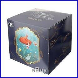 Disney Store Japan Little Mermaid Ariel Snow Globe Music Box D23 2018 limited