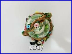 Disney THUMPER In A Basket Snow Globe Easter Parade Musical Snowglobe