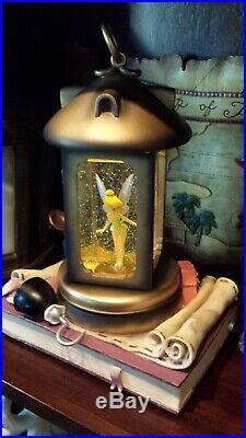 Disneyland Parks Tinkerbell in Lantern Musical Snow Globe