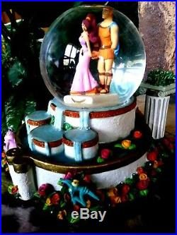 Hercules Musical Disney Water Snow Globe, Plays I Won't Say, New, Mint