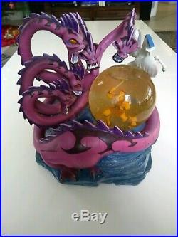 Hercules Vs Hydra & Dragons Disney Store Musical Snow globe