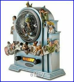 RARE! 25th Anniversary Radio Light up Musical Globe, alice, jiminy, dumbo LE 250