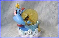 Tokyo Disney Sea Aladdin Music box Snow globe figure dome Genie jasmine TDR